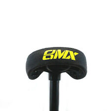 EASTERN BIKES SEAT/POST COMBO BLACK/YELLOW