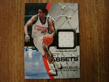 2003-04 EX Net Assets Andre Miller Jersey Card (B22) Los Angeles Clippers