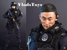 Soldier Story 1/6 escala acero azul SWAT comandos China Beijing Ss-099