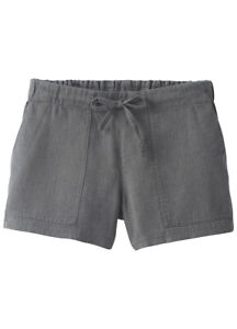 Womens XL PrAna New NWT Dark Green Hike Shorts Pockets Trail Organic Milango