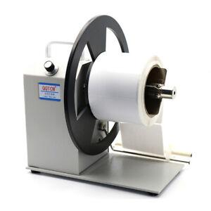 90mm Automatic Label Rewinder Bar Code Label Rewinding Machine Adjustable Speed