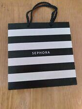 Sephora Black And White Shopping Bag Small Genuine