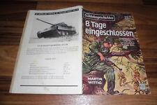 SOLDATENGESCHICHTEN # 82 / 1959 -- 8 TAGE EINGESCHLOSSEN / Partisanenkämpfe Tito