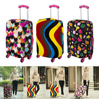 Travel Luggage Cover Protector Elastic Case Suitcase Scratch Apply for S/L/XL TA