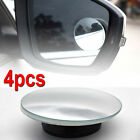 4x Rear Side View Blind Spot Mirror Universal Car Auto 360° Wide Angle Convex