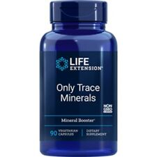 Life Extension - Only Trace Minerals x 90 Vegetarian Capsules