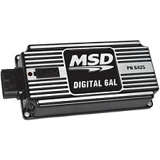 MSD 64253 Digital 6AL CD Multiple Spark Universal Ignition Box With Rev Limiter