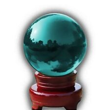 Glass Crystal Ball Magic Healing Photography Colourful Sphere Ball 100mm Blue