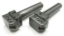 2 Warner Amp Swasey 1 14 Adjustable Lathe Toolholders With 2 12 Shanks M 4475