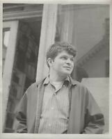 BEAT POET GREGORY CORSO - PHOENIX BOOK SHOP NYC 1964  8 x 10 ORIGINAL PHOTOGRAPH