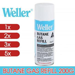 WELLER BT200G BUTANE GAS REFILL 200G Weller Pyropens Portasols