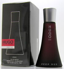 HUGO BOSS Deep Red Woman 50 ml EDP Spray Neu OVP