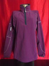 Berghaus Womans Size:16 Fleece Sports Jacket Sweater Jumper Zip Purple