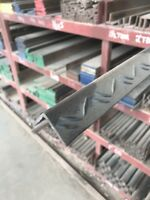 """3 INCH STEEL CHANNEL IRON /"""" INCHES LONG 4.1 lbs per ft Weldable 6/""""-7/"""" 2pc"""