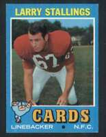 1971 Topps #93 Larry Stallings NM/NM+ Cardinals 66329