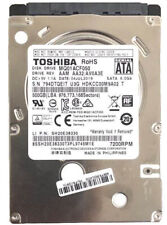 "NEW Toshiba 500GB  2.5"" 7200RPM  SATA Internal Hard Drive for Gaming and Working"