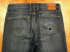 LUCKY BRAND 361 VINTAGE STRAIGHT JEANS ACTUAL SIZE 35 x 33 Tag 33 x 33 BEST G89