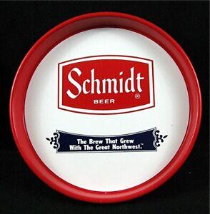 Old Schmidt Beer Tray Great Northwest Old Unused Beer Distributors Stock