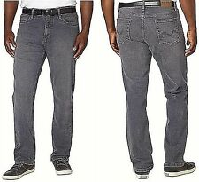 Urban Star Men's Jeans Stretch Relaxed Fit Straight Leg New Grey 42x32