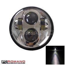 DOT Motorcycle White Headlight 10-30V LED Light For Harley Sportster 48 Dyna Hot