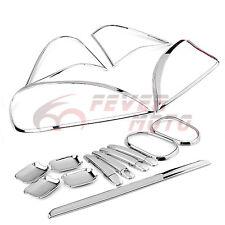For 98-05 MERCEDES W163 ML55 430 320 Chrome Door Handle+Headlight Trim Covers FM