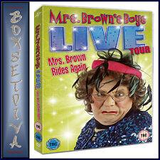 MRS BROWNS BOYS LIVE TOUR- MRS BROWN RIDES AGAIN  **BRAND NEW DVD **
