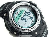 CASIO SGW100-1 SGW-100-1 Compass Thermometer Original Package !