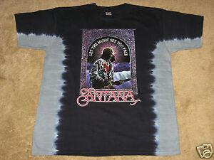 Santana Set You Free S, M, L, XL, 2XL Tie Dye T-Shirt