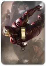 Marvel Ironman Metal Switch plate Wall Cover Lighting Fixture Playroom SP717