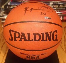 RAYMOND FELTON Autographed Signed OFFICIAL SPALDING  BASKETBALL Upper Deck COA