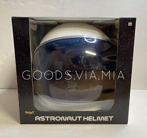 Spirit Teen Adult White Blue Tinted Astronaut Helmet Space Man Cosplay Halloween