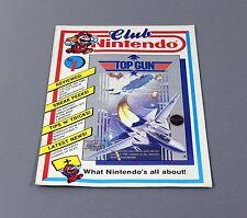 Club Nintendo Heft Magazin - Erst Ausgabe No. 1 1989 - MEGA RAR !!!