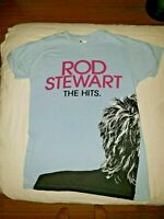 Rod Stewart The Hits Colosseum Caesars Palace T-shirt Womens SMALL S