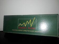MARKET MANIA - Stock Market Game For Sharp Investors RARE FIND