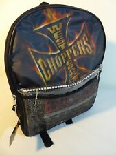 West Coast Choppers FAB Starpoint Backpack School set Bag Jesse James 2004