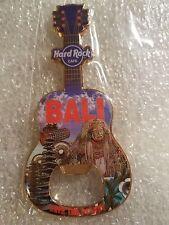 Hard Rock Cafe BALI Magnet Guitar Bottle Opener