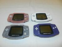 Nintendo Game Boy Advance System Console AGB-001 - You Pick Color!