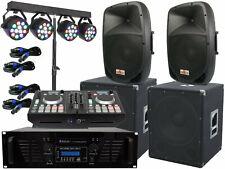 Il Dj Completo Set-1 Controllo Impianto Luce LED USB Stereo 5000 Watt