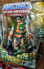 Masters of the Universe Classics TRI-KLOPS/TRIKLOPS w/ White Mailer MIB He-Man