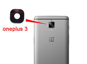Back Rear Main Camera Glass Lens Cover For OnePlus 3 3T A3000 A3003 1+3