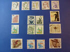 LOT 653 TIMBRES STAMP DIVERS ALLEMAGNE FEDERALE ANNEE 1986/98