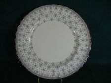 Spode Fleur de Lis Lys Gray Bone China Dinner Plate(s)