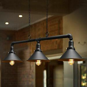 Industrial Retro Pendant Light Shade Suspended Ceiling Lights Metal Lamp UKSTOCK