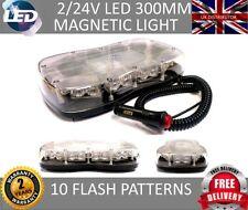 LED LIGHTBAR MINI Magnetic Flashing Beacon Hazard Recovery Truck Light 12V/ 24V