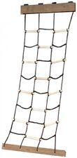 Kids Heavy Duty Braided Nylon Cargo Climbing Net for Playground 30 x 96 in.