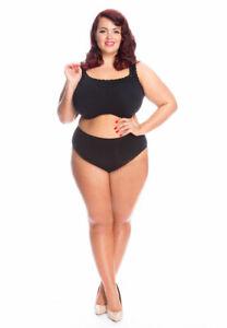 All Woman Seamless Stretch Plus Size Knickers Extra-Large XXXL UK Sizes 12-36