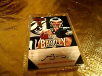 2013 PANINI PLAYBOOK ROOKIE AUTO MATT BARKLEY 5/49 RARE