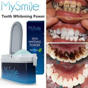 MySmile Teeth Whitening Powder Remove Tooth Stains Natural Whitener Kit