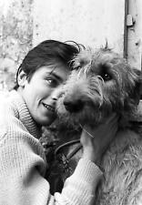 Alain Delon Looking At The Dog 8x10 Photo Print