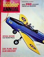 Vtg American Modeler Magazine Annual 1965 Edition Cal Smith Plans m163
